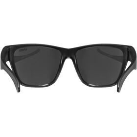 UVEX Sportstyle 508 Occhiali Bambino, black mat/silver